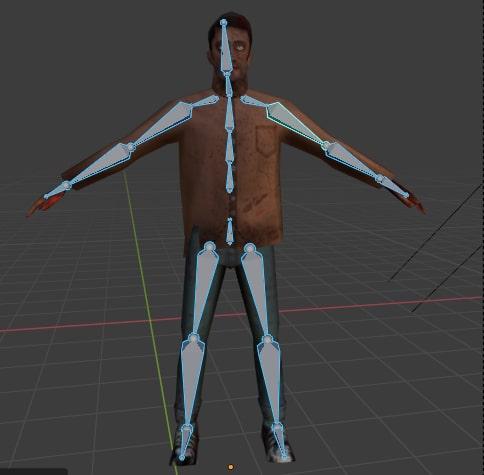 Zombie horde 3d model