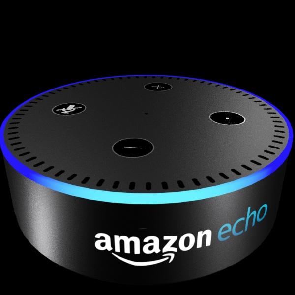 Amazon echo 3d model