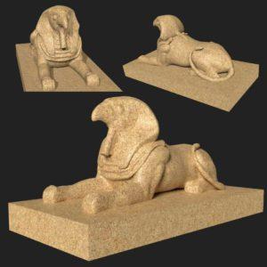 Horus 3d model
